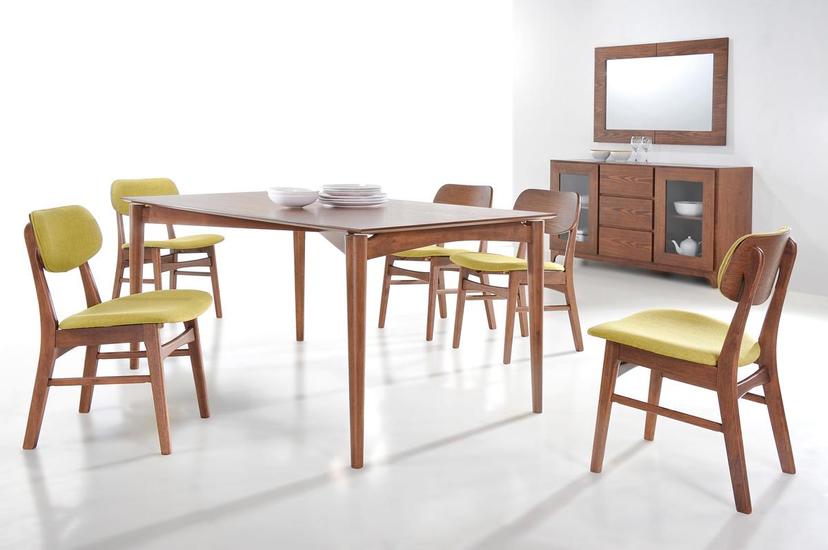Stół IMPRESIO + krzesła DONAT
