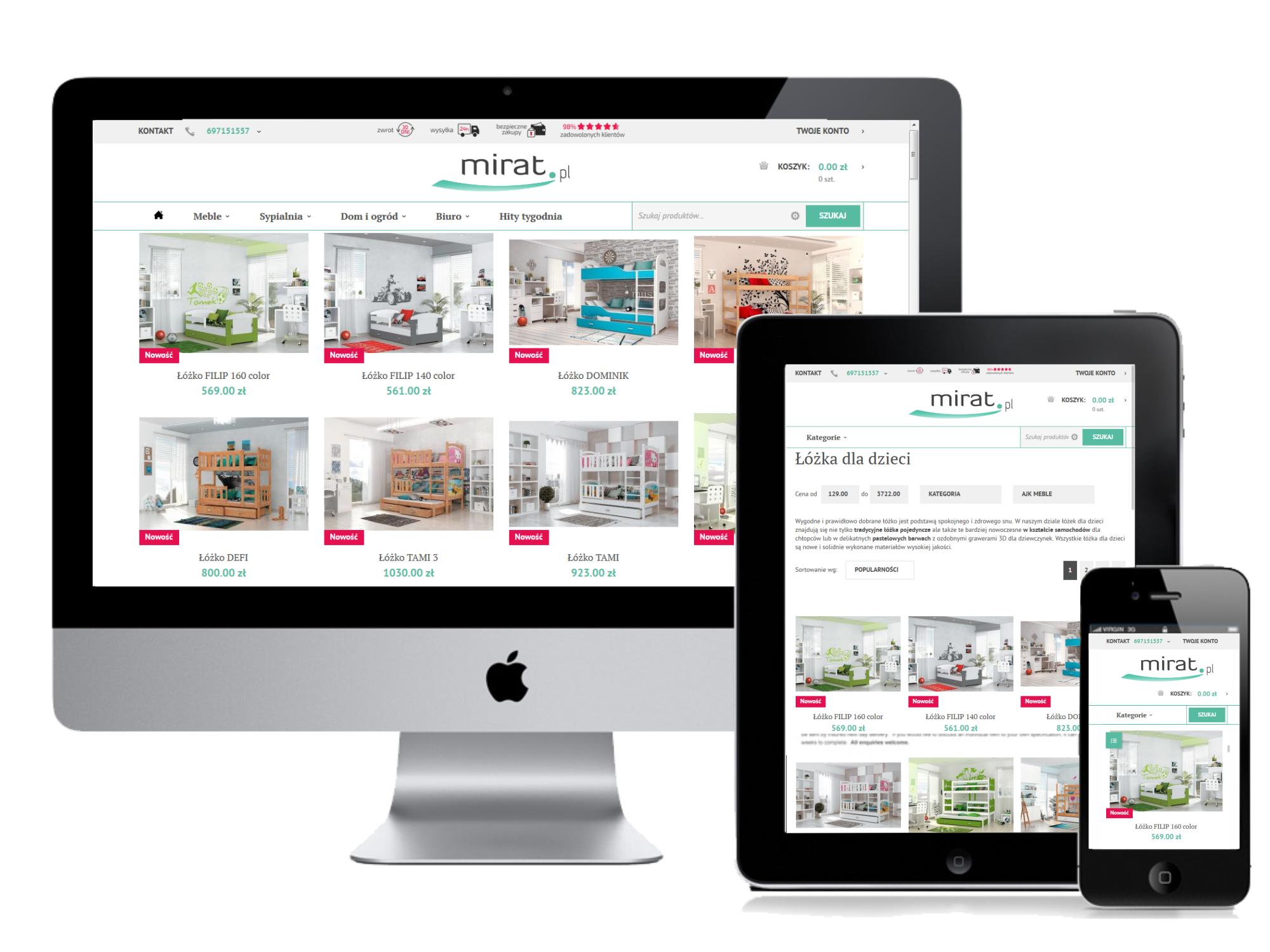 Mirat.pl - łatwe zakupy w internecie