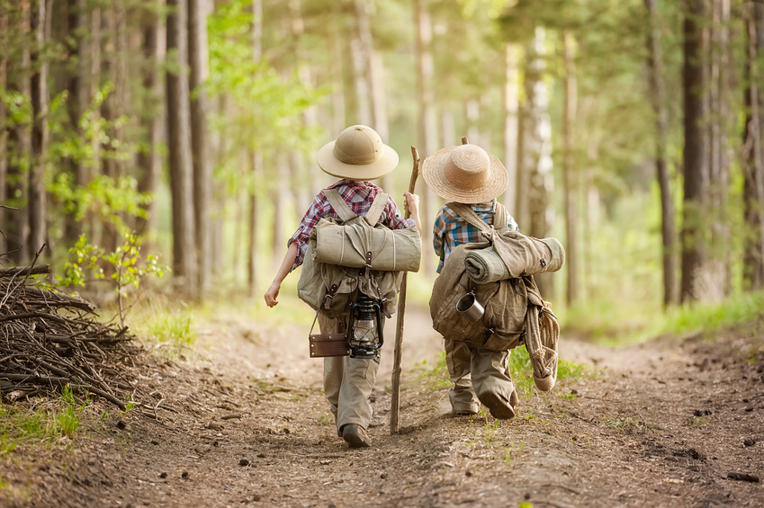 Dziecięce zdobywanie świata