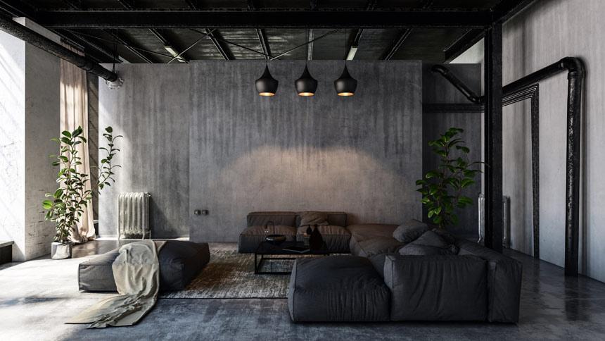 Jak urządzić apartament w stylu Industrialnym