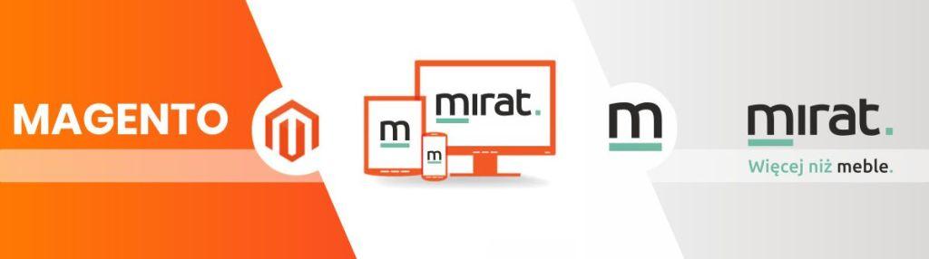 Sklep Mirat. wchodzi na platformę Magento 2