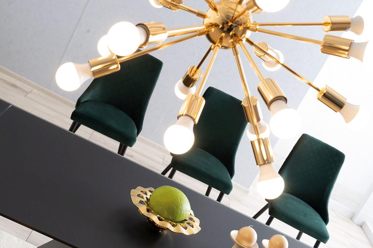 Do jakiego wnętrza pasuje tapicerowane krzesło velvet?
