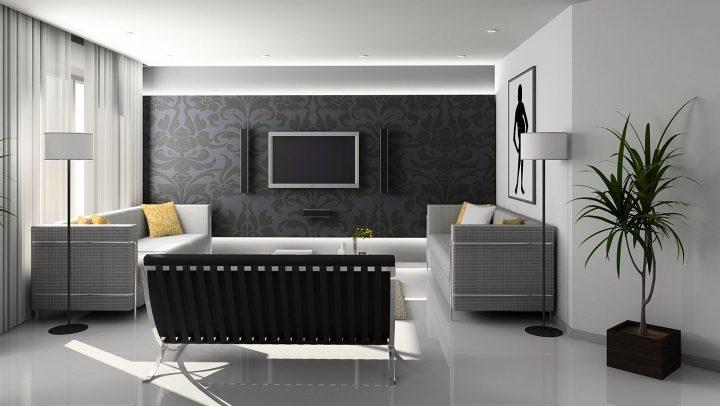 Ściana telewizyjna w salonie – kilka pomysłów