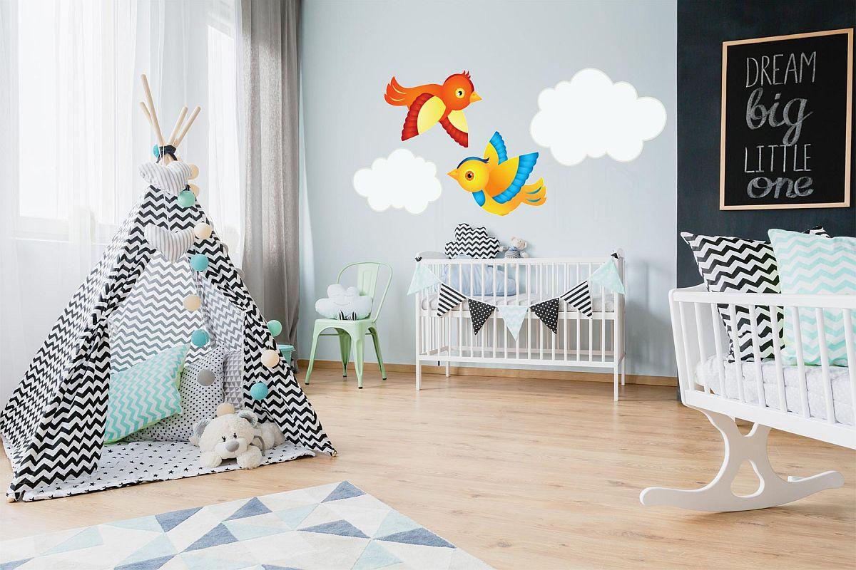 Dekorujemy pokój dziecięcy za pomocą tapet dla dzieci